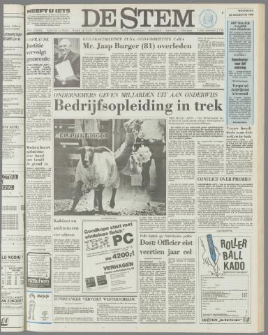 de Stem 1986-08-20