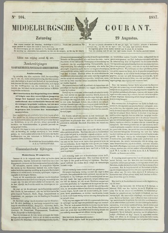 Middelburgsche Courant 1857-08-29