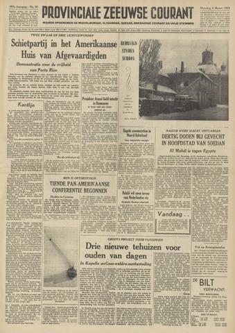 Provinciale Zeeuwse Courant 1954-03-02