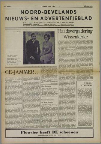 Noord-Bevelands Nieuws- en advertentieblad 1965-07-03