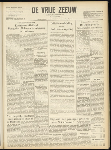 de Vrije Zeeuw 1957-12-07