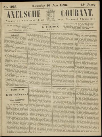 Axelsche Courant 1896-06-10