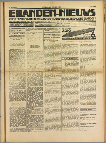 Eilanden-nieuws. Christelijk streekblad op gereformeerde grondslag 1935-07-06