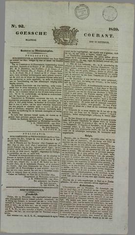 Goessche Courant 1839-11-18