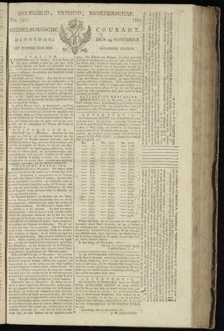 Middelburgsche Courant 1801-11-24