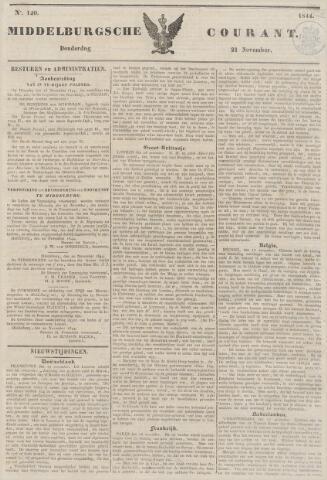 Middelburgsche Courant 1844-11-21