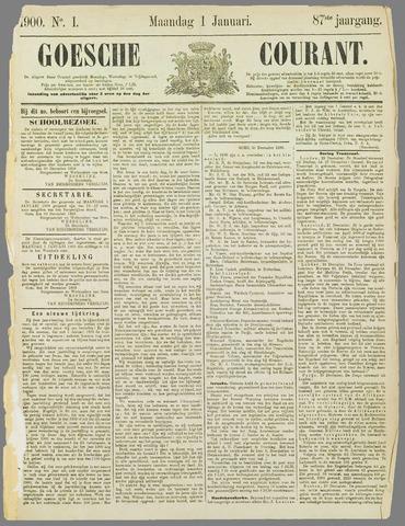 Goessche Courant 1900