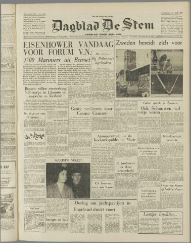 de Stem 1958-08-13
