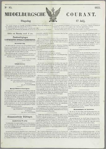 Middelburgsche Courant 1855-07-17