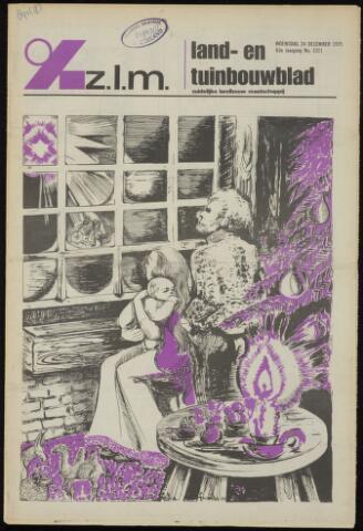 Zeeuwsch landbouwblad ... ZLM land- en tuinbouwblad 1975-12-24