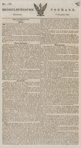 Middelburgsche Courant 1834-11-06