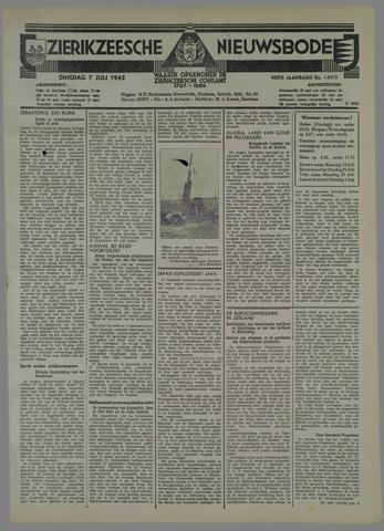 Zierikzeesche Nieuwsbode 1942-07-07
