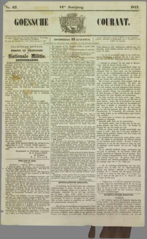 Goessche Courant 1857-08-13