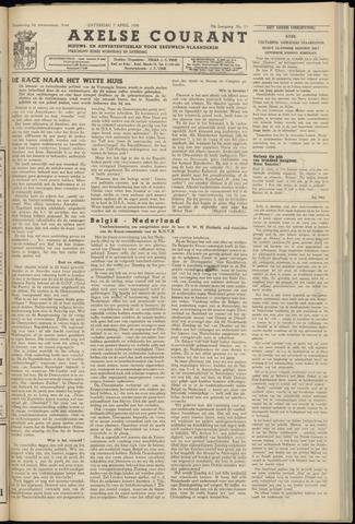 Axelsche Courant 1956-04-07