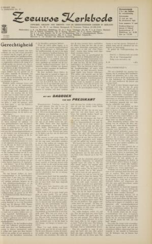Zeeuwsche kerkbode, weekblad gewijd aan de belangen der gereformeerde kerken/ Zeeuwsch kerkblad 1963-03-29