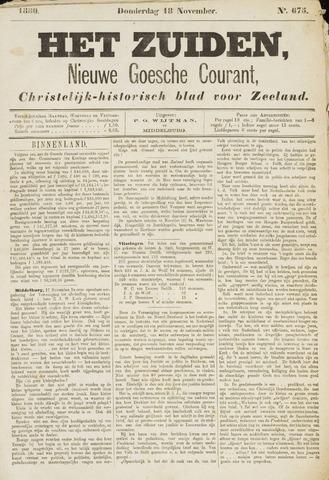 Het Zuiden, Christelijk-historisch blad 1880-11-18