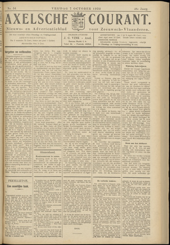 Axelsche Courant 1932-10-07