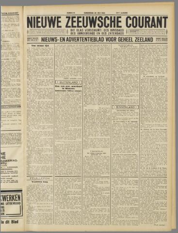 Nieuwe Zeeuwsche Courant 1934-07-26