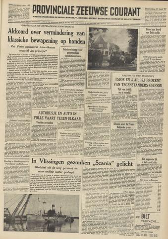 Provinciale Zeeuwse Courant 1957-06-27