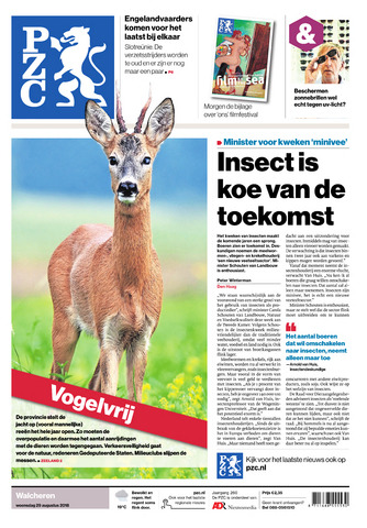 Provinciale Zeeuwse Courant 2018-08-29