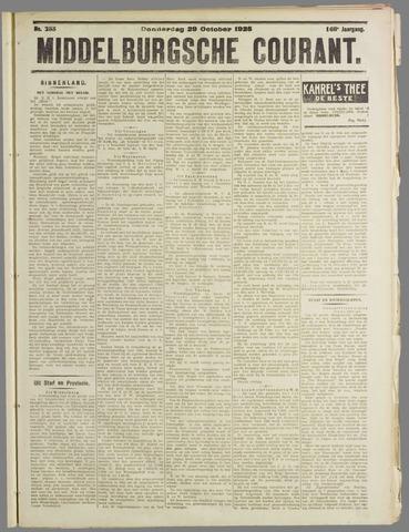 Middelburgsche Courant 1925-10-29