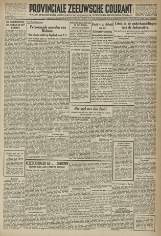Provinciale Zeeuwse Courant 1946-05-29