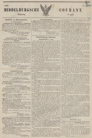 Middelburgsche Courant 1852-04-06