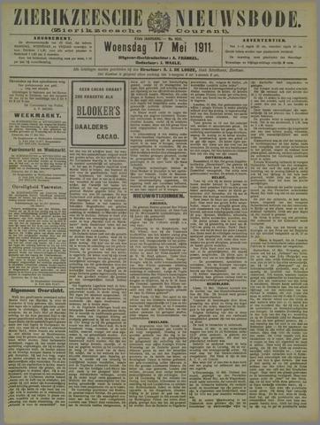 Zierikzeesche Nieuwsbode 1911-05-17