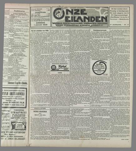 Onze Eilanden 1929