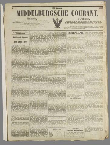 Middelburgsche Courant 1911