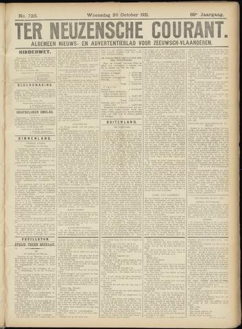 Ter Neuzensche Courant. Algemeen Nieuws- en Advertentieblad voor Zeeuwsch-Vlaanderen / Neuzensche Courant ... (idem) / (Algemeen) nieuws en advertentieblad voor Zeeuwsch-Vlaanderen 1921-10-26