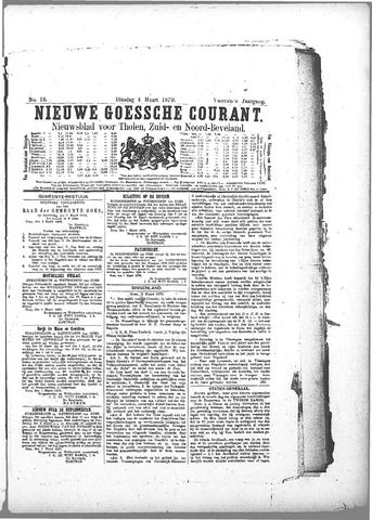 Nieuwe Goessche Courant 1879-03-04