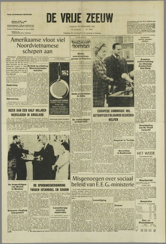 de Vrije Zeeuw 1966-11-25