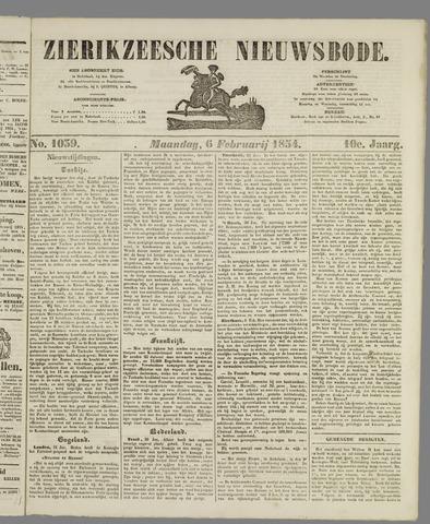 Zierikzeesche Nieuwsbode 1854-02-06