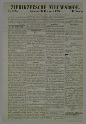 Zierikzeesche Nieuwsbode 1873-02-22
