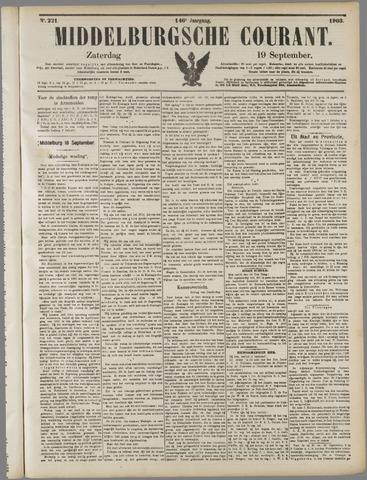 Middelburgsche Courant 1903-09-19
