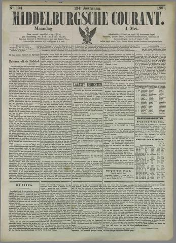 Middelburgsche Courant 1891-05-04
