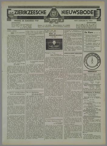 Zierikzeesche Nieuwsbode 1937-08-20