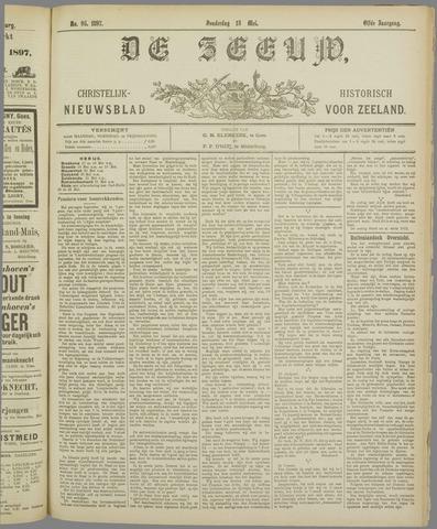De Zeeuw. Christelijk-historisch nieuwsblad voor Zeeland 1897-05-13