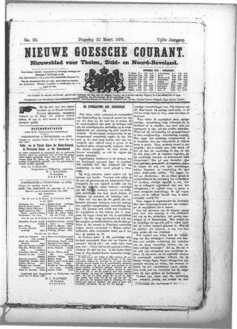 Nieuwe Goessche Courant 1870-03-22