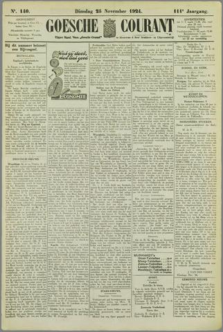 Goessche Courant 1924-11-25