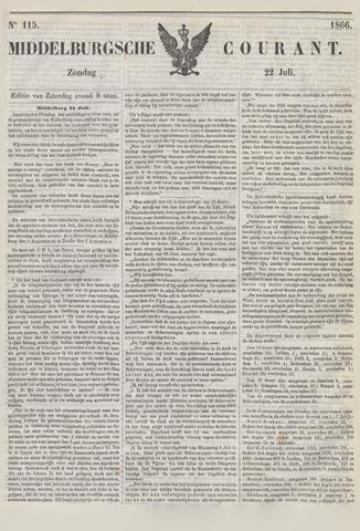 Middelburgsche Courant 1866-07-22