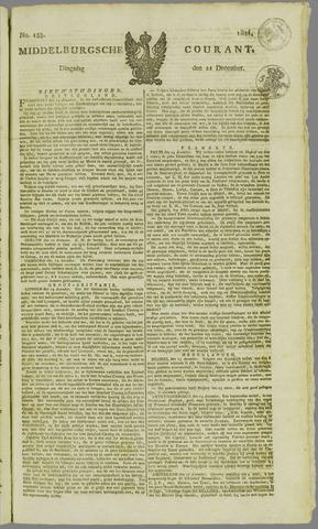 Middelburgsche Courant 1824-12-21