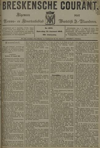 Breskensche Courant 1913-01-25