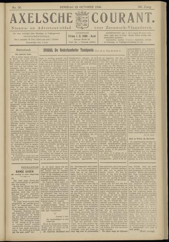 Axelsche Courant 1940-10-22