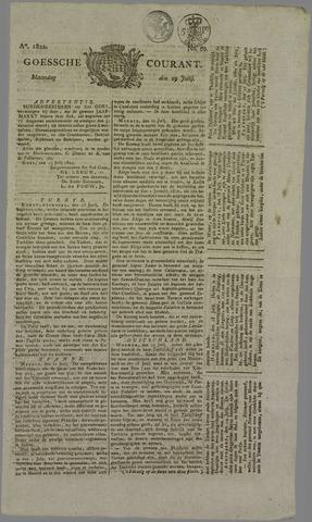 Goessche Courant 1822-07-29