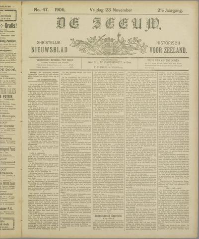 De Zeeuw. Christelijk-historisch nieuwsblad voor Zeeland 1906-11-23