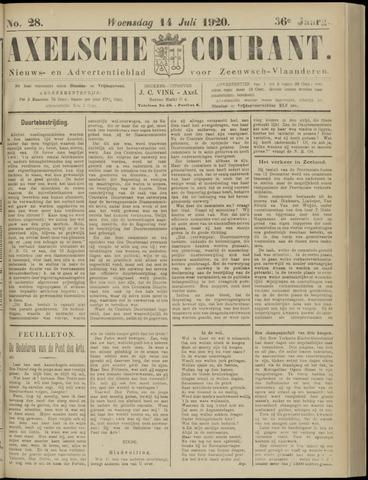 Axelsche Courant 1920-07-14