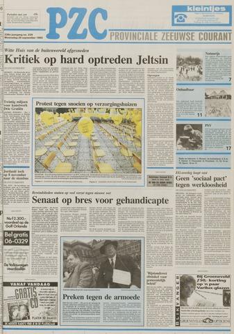 Provinciale Zeeuwse Courant 1993-09-29