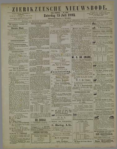 Zierikzeesche Nieuwsbode 1893-07-15